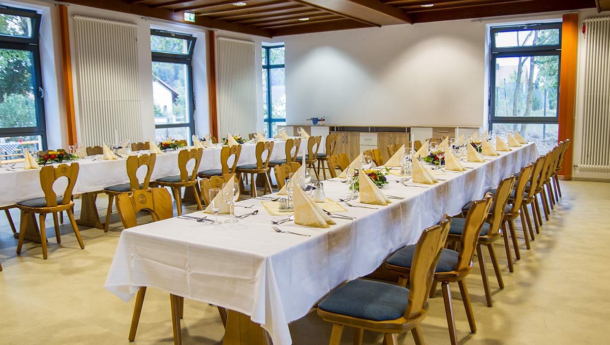 Gasthaus Nebenzimmer in Saal